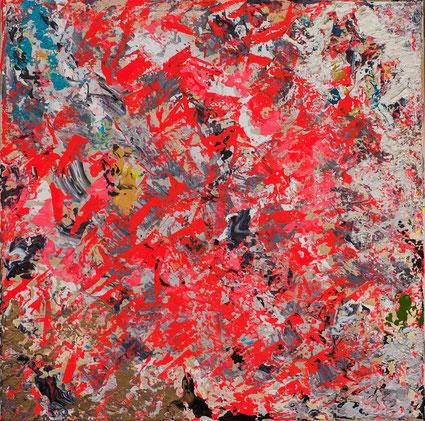 """Titel: """"1995"""" (2016), 40 cm x 40 cm"""