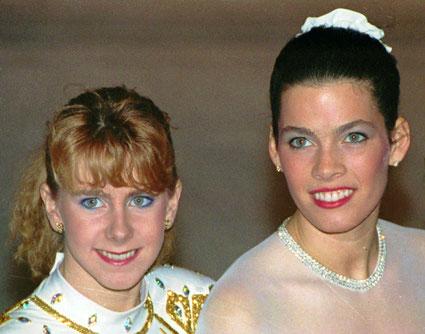 © AP - Tonya Hardin (à gauche) - Nancy Kerrigan (à droite)