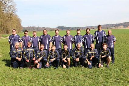 Mannschaftsfoto 2014 - Wettspiel Arch Oberwil