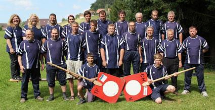 Mannschaftsfoto - Äbeläng Juni 2014