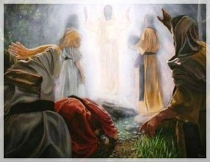 Jesus im Licht