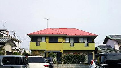 船橋市の戸建住宅、外壁塗装・屋根塗装工事完了の写真
