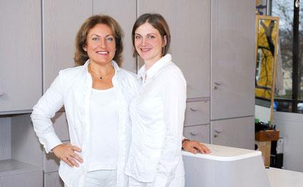 Mirjana Eberl MSc und Diana Mahl (angestellte Zahnärztin), Eichenau: Zahnerhaltung und Prophylaxe