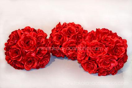 topiarios artesanales, rosas artesanales, ramos artesanales