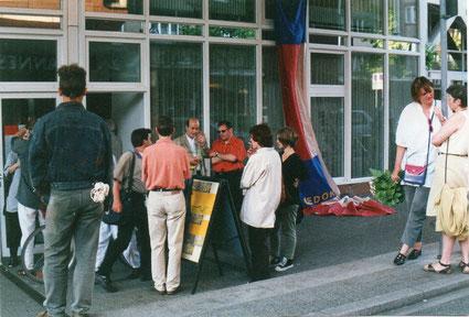 1998, Eröffnung der Galerieräume in der Markgrafenstraße 14, 15.05. 1998