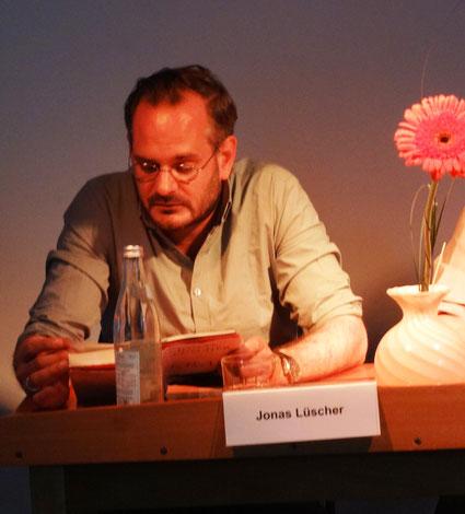 """Jonas Lüscher im Literaturhaus Sulzbach-Rosenberg: """"Kraft"""""""