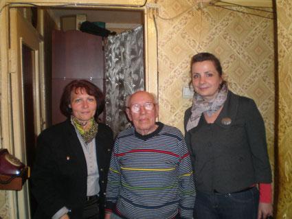 В гостях у художника В.И. Ломанов