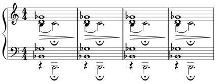 partition séquence harmonique thème