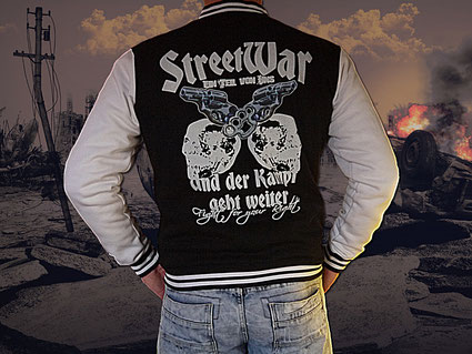 Die neue Streetwar Jacke für Männer