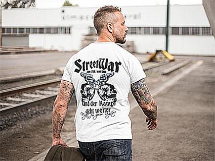 Streetwar Shirt in weiß