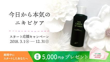 ニキビケア化粧品クロロフイル化粧料 岐阜県・三重県・石川県・富山県・福井県のクロロフイル化粧料販売店。セルフケアで美しくなれる、そんなお手入れ方法を身につけられる教室です。 カウンセリング、お手入れのレッスン、美顔器も無料で使えます。シミ、肌アレ、化粧品でカブレてしまう方などなどお肌にやさしい自然由来。スタート応援キャンペーン実施中。今日から本気のニキビケア