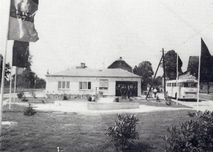 Bild: Buswendeplatz Wünschendorf Erzgebirge Platz der Jugend