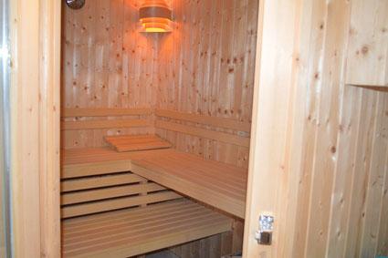 Nach ausgedehnten Wanderungen -Relaxen in unserer Sauna