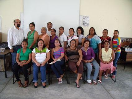 Elternversammlung 2013 l.Der Schuldirektor Emeridt Castillejos C.
