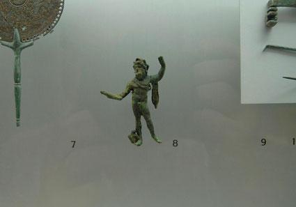 Réplica de Estatuilla en broce de Dios Romano