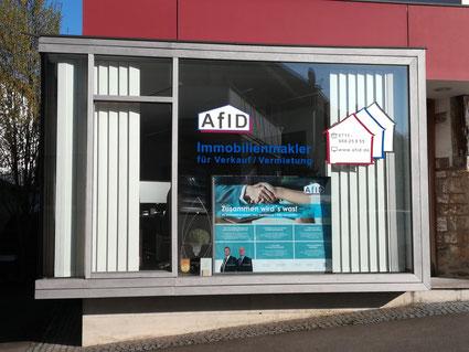 Unser Büro in Stuttgart Plieningen - © AfID-Immobilien