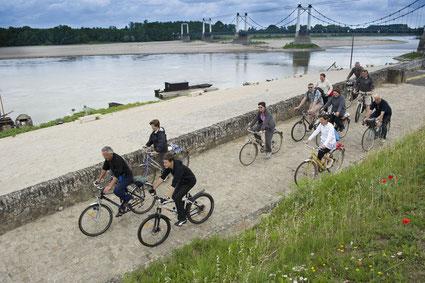 La Loire à Vélo entre Angers et Nantes ©D. DROUET