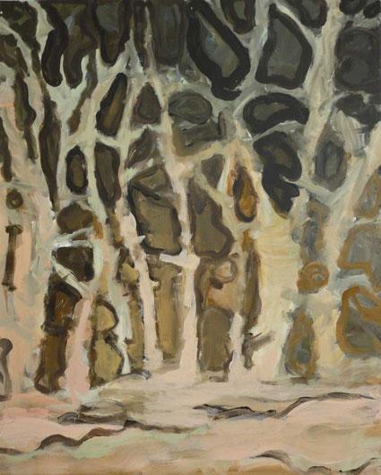 Ohne Titel, 2015 Acryl auf Leinwand, 80x65