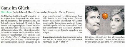Süddeutsche Zeitung 19. Jan 2014