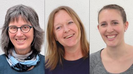 Physiotherapie Niederscherli Team Lara Berger Katrin Abplanalp Hanna Bossard