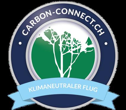 Logo Klimaneutraler Flug
