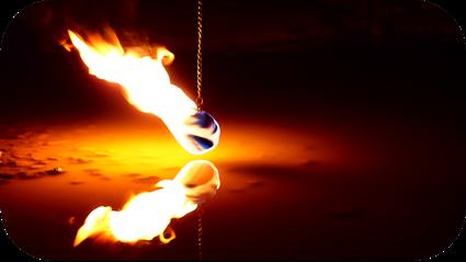 Feuerkünstler Repertoire