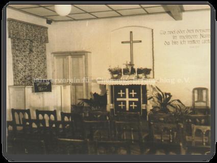 Kirchsaal 1954