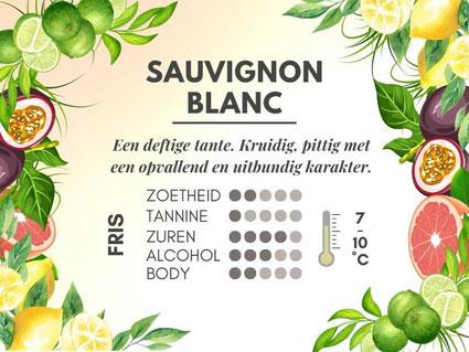 Verschil Chardonnay en Sauvignon Blanc - Smaakprofiel Sauvignon Blanc