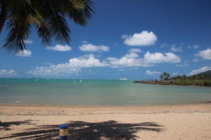 plage d'Airlie Beach