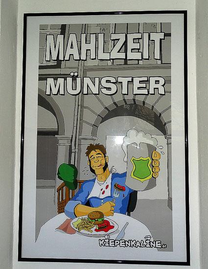 """Kiepenkerl sagt """"Mahlzeit Münster"""""""