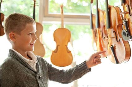 Geigenunterricht für Anfänger