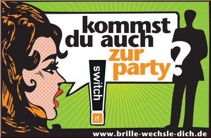 Switch It Party bei Optik Menzel in Bremen-Lesum
