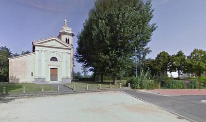 La chiesa di Monticelli