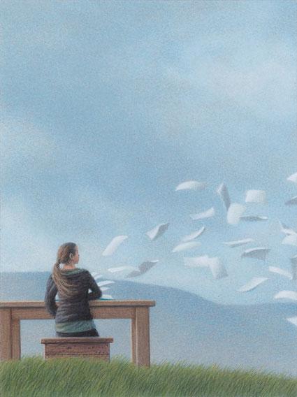 """""""Sommerwind"""" von Quint Buchholz - dieser Künstler ist seit 2020 neu in der Galerie dabei - Foto: Quint Buchholz"""
