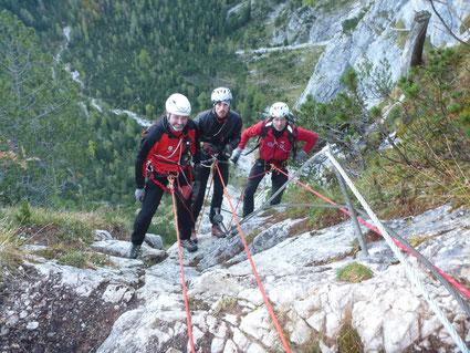 Klettersteig Ehrwald : Klettersteig bergprofi ehrwald zugspitze