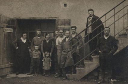 Kranz Kastenfenster, Familienbetrieb seit 1921, Familienfoto, Tischlerbetrieb, Traditionshandwerk