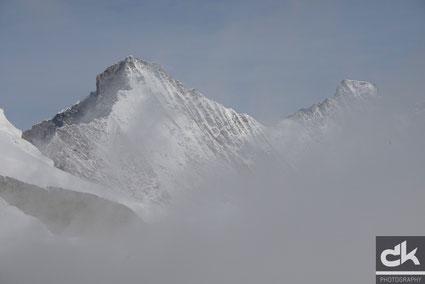 Täschhorn 4490m und Dom 4545m