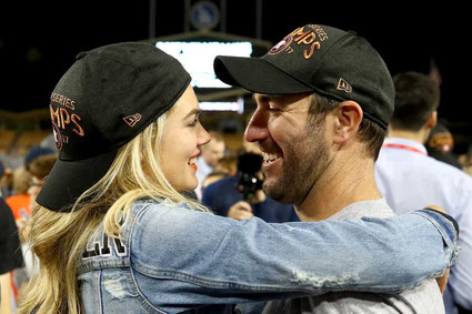 Justin Verlander e Kate Upton (Ezra Shaw, Getty Images)