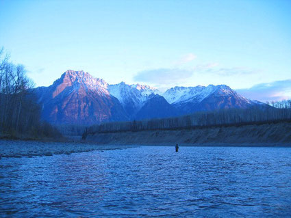 Skeena Steelhead Spey Fishing