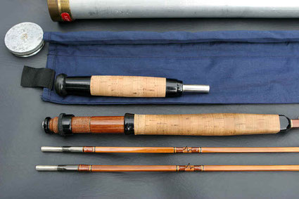 Edwards Quadrate Bamboo Rod