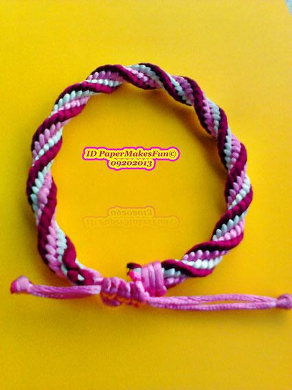 Kumihimo - Bracelet - Armband