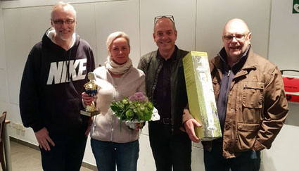 v.l. Klaus-Werner Schäfer, Edith Schwarz, Jens Grünert, Georg Grätz
