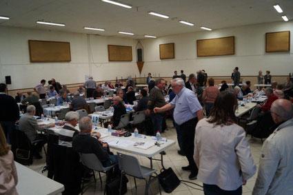 Le Conseil Communautaire à Condé-en-Brie.