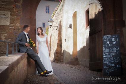 Hochzeitsfotos am Rochlitzer Berg