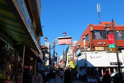 鎌倉の街並み