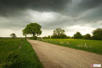 Donkere wolken boven Gorssel