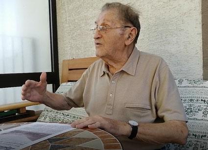 Zeitzeuge aus Ramsen, 90 Jahre alt