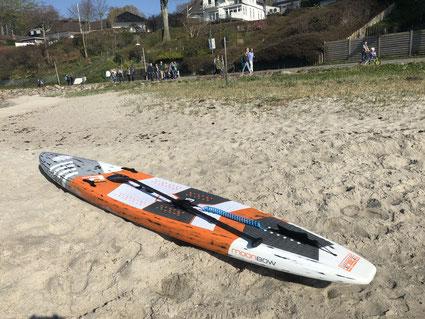Das Openwater-Raceboard aus dem Hause FoolMoon mit dem Potential zum Star.