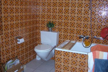 Badezimmer vor dem Umbau