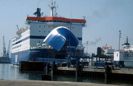 Le M/V Pride of Portsmouth à Portsmouth.